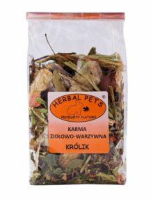 karma ziołowo-warzywna królik