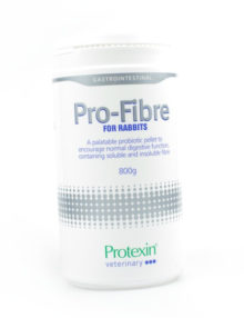 granulat pro-fibre dla królików