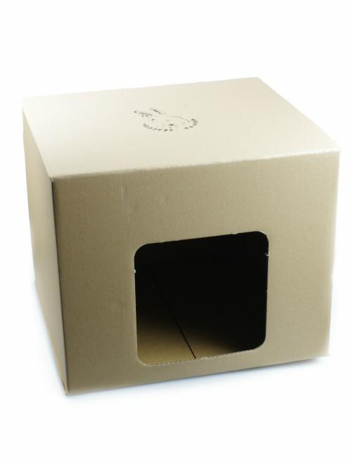 kartonowy domek dla królika bunny expert