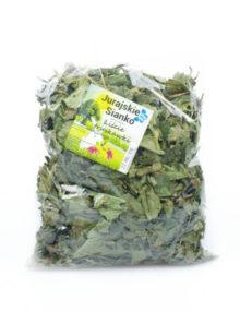 liście truskawek dla królika