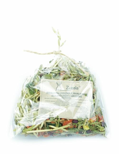 mieszanka warzywno ziołowa dla królików