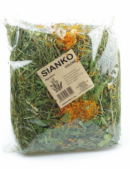 sianko wegrowskie z ziołami dla królika