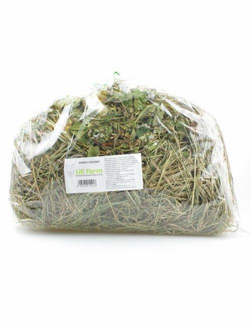 sianko z ziołami dla królika