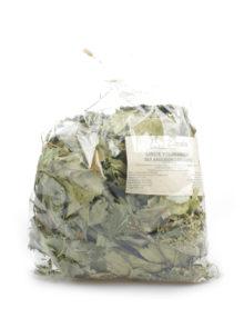 liście truskawek dla królików