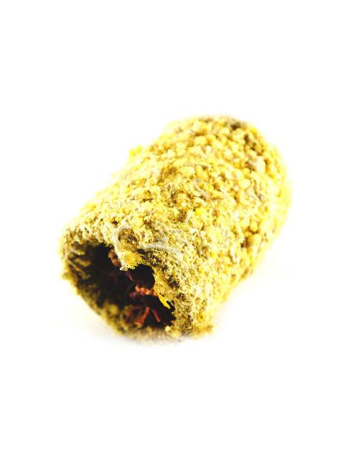 przysmak rolka kocanka i topinambur dla królika